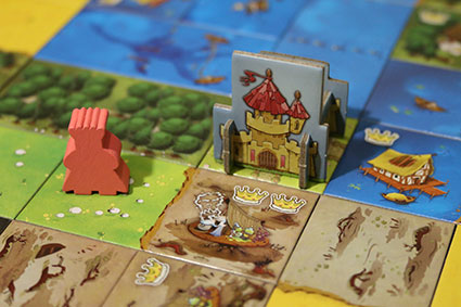 Kingdomino Tiles Meeple