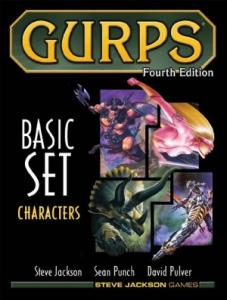 GURPS 4E Characters משחק תפקידים גנרי יוניברסלי