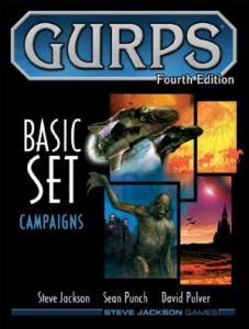 GURPS 4E Campaigns משחק תפקידים גנרי יוניברסלי