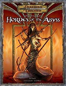 Fiendish Codex I: Hordes of the Abyss מבוכים ודרקונים 3.5 מפלצות