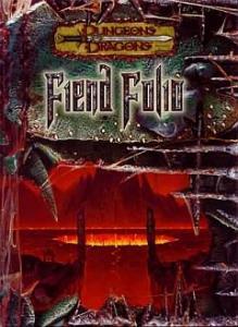 Fiend Folio מפלצות שדים מבוכים ודרקונים 3