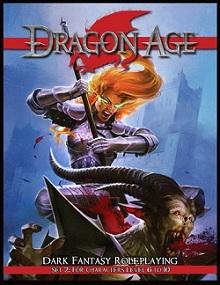 Dragon Age RPG Set 2 עידן הדרקון משחק תפקידים שולחני