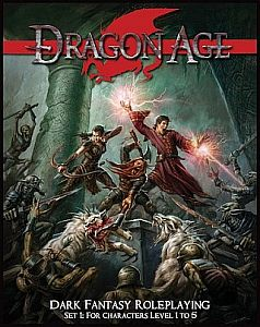 Dragon Age RPG Set 1 עידן הדרקון משחק תפקידים שולחני