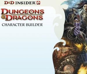 Character Builder מבוכים ודרקונים 4