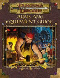 Arms&Equipment Guide מבוכים ודרקונים 3.5 ציוד נשק קסום
