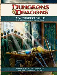 Adventurer's Vault מבוכים ודרקונים 4 תיבת האוצרות