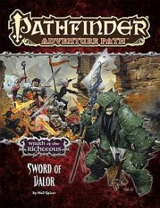 Sword of Valor הרפתקה שנייה חרון הצדיקים פת'פיינדר pathfinder