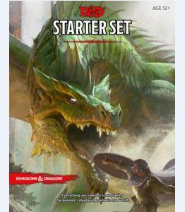 D&D Starter Set ערכה למתחיל מבוכים ודרקונים 5