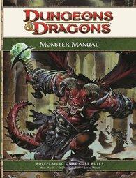מגדיר המפלצות מבוכים ודרקונים 4 - Monster manual