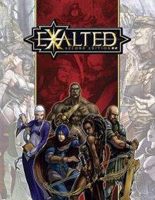 הנשגבים משחק תפקידים ספר בסיס - Exalted מהדורה שנייה 2
