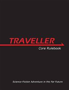 Traveller Core Rulebook משחק תפקידים מדע בדיוני הנוסע