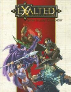Storyteller's Companion Exalted הנשגבים ספר הרחבה מנחה
