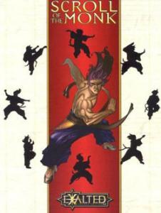 Scroll of the monk הנשגבים אומנויות לחימה