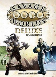 Savage Worlds Deluxe עולמות פראיים משחק תפקידים גנרי
