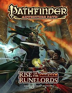 Rise of the Runelords, Part 2 Paizo Pathfinder הרפתקאות פת'פיינדר