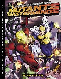 Mutants and masterminds 2e משחק תפקידים גיבורי על