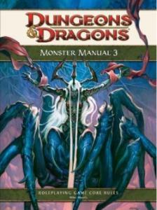 Monster Manual 3 - מבוכים ודרקונים 4 מגדיר מפלצות 3