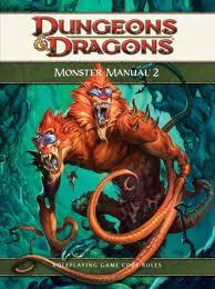 Monster Manual 2- מבוכים ודרקונים 4 מגדיר מפלצות 2