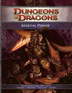 Martial Power - מבוכים ודרקונים 4 עוצמת הקרב ספר הרחבה לוחמים