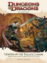 Heroes of the Fallen Lands מבוכים ודרקונים 4 essentials