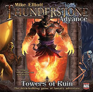 Thunderstone Advance: Towers of Ruin משחק קלפים, בניית חבילות, פנטזיה