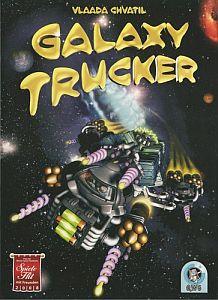 Galaxy Trucker משחק לוח מדע בדיוני מוטרף