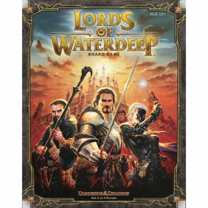 Lords of Waterdeep משחק לוח