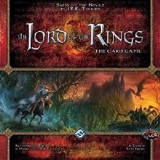 Lords of the Rings LCG משחק קלפים שר הטבעות