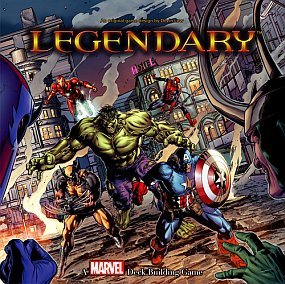 Legendary - Marvel Deck Building Game משחק קלפים גיבורי על