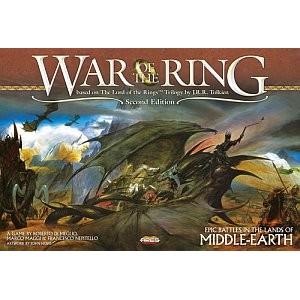 War of the Ring 2nd Ed. משחק לוח מלחמה שר הטבעות