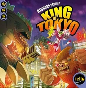 King of Tokyo משחק לוח קוביות