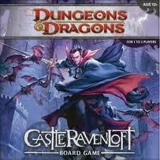 Castle Ravenloft רייבנלופט משחק לוח