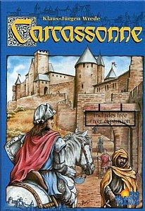 קרקסון - Carcassonne משחק לוח צרפת
