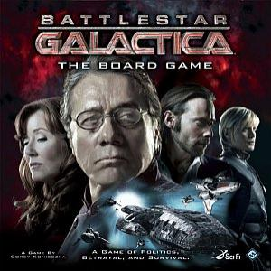 Battlestar Galactica משחק לוח חלל
