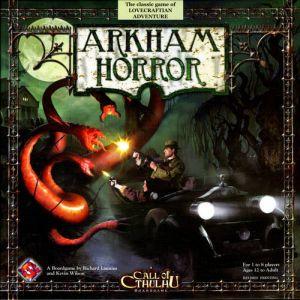Arkham horror משחק לוח אימה לאבקרפט