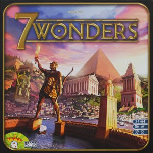 7 Wonders משחק קלפים פלאי עולם