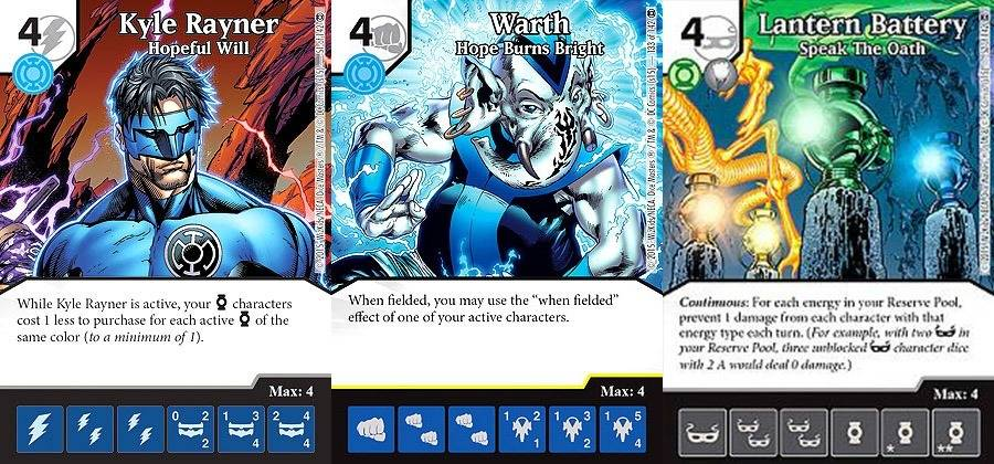 DM war of light cards2