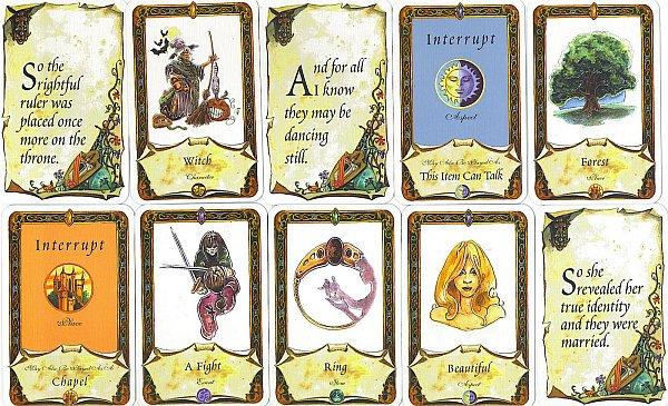 Once Upon a Time Cards - קלפים