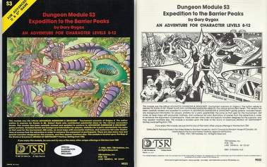 dungeons dragons history barrier peaks