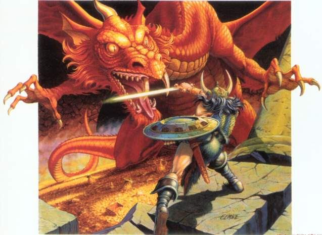dungeons dragons history red box art