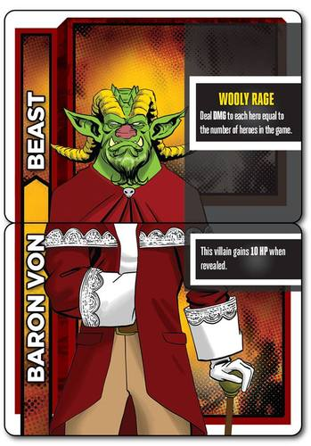 heroes wanted baron von beast