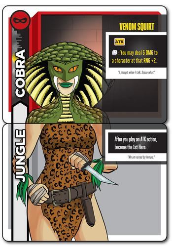 heroes wanted jungle cobra