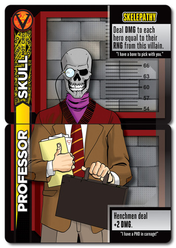 heroes wanted professor skull