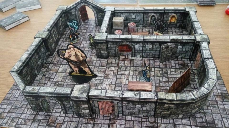 papercraft Dungeon 1